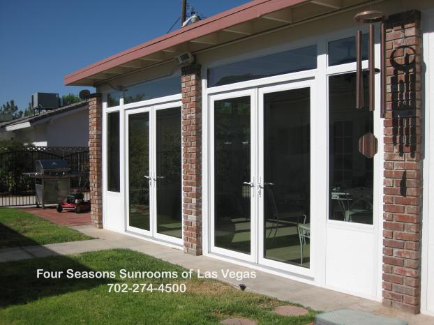 Patio Enclosure with French Doors ( Exterior View ) - Las Vegas, NV