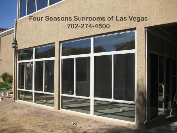 Patio Enclosure with Second Deck Sunroom - Las Vegas, NV