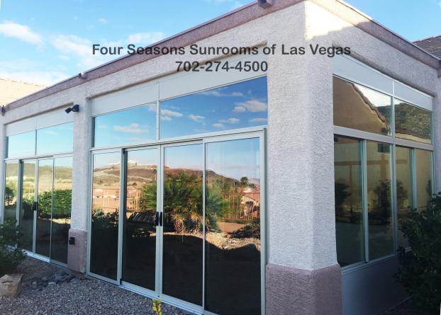 Patio Enclosure ( Right View ) - Henderson, NV