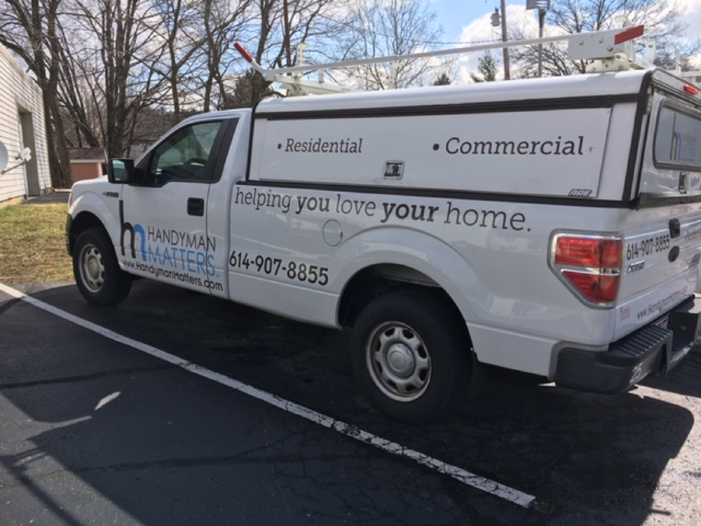 Handyman Matters Van