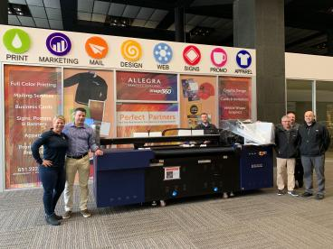 Allegra is the proud owner of the first KONIKA large format printer in the United States!