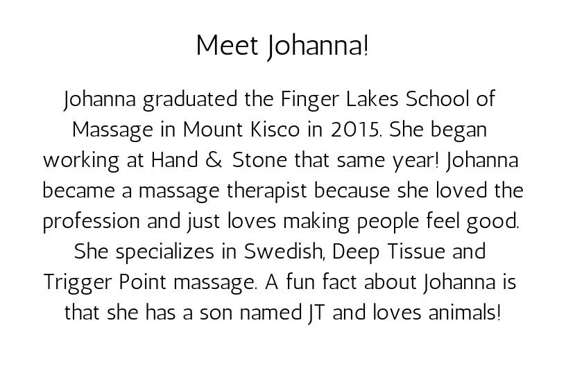 Meet Johanna!