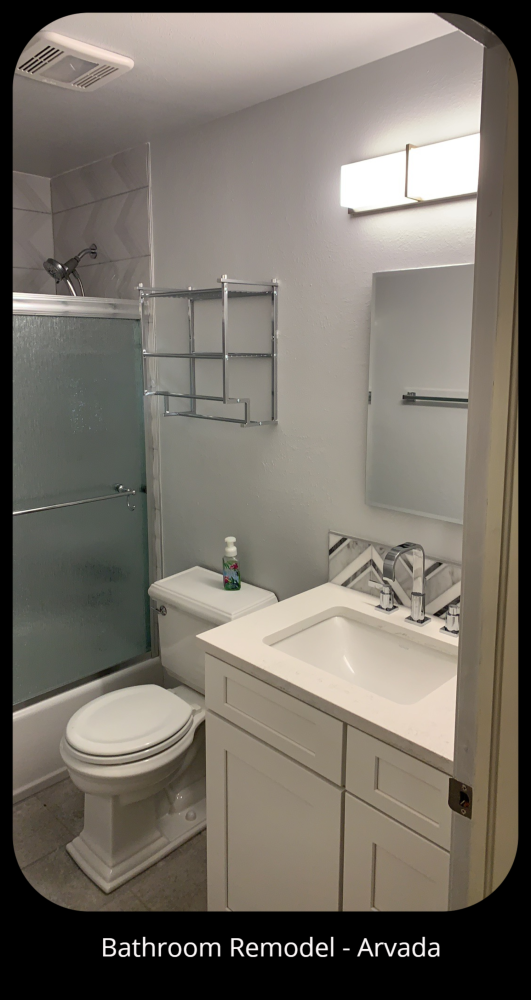 Bathroom Remodel After - Arvada, CO