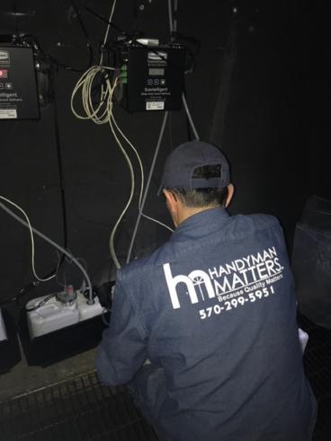 Handyman Matters of Wilkes-Barre and Scranton working at Mohegan Sun Pocono Casino