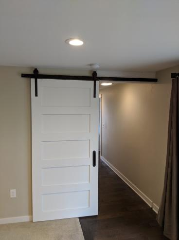 Barn Door Installation in West Linn-After