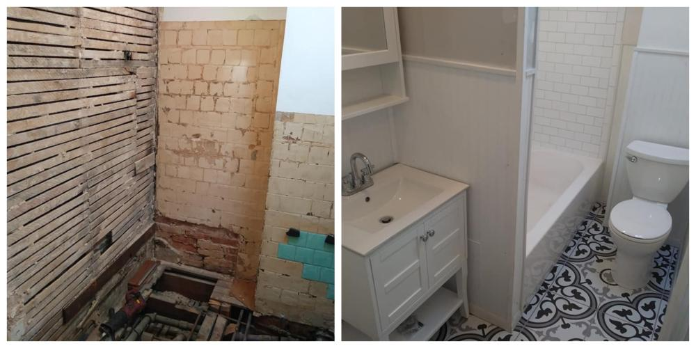 Bathroom Remodel ~ Baltimore, MD