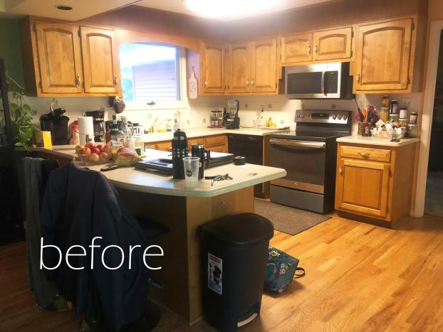 Harrisburg Kitchen Remodel - BEFORE