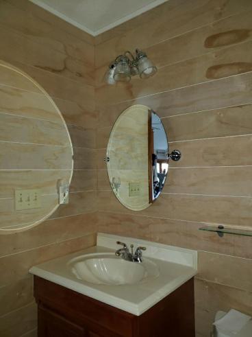 Shiplap custom carpentry project in Washington, PA
