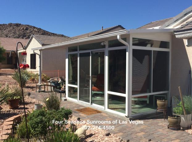 Solid Roof Patio Enclosure Bump-out - Henderson, Nevada