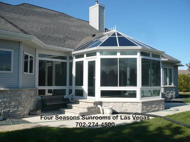 Unique Designed Glass Roof Conservatory
