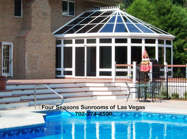 Custom All-Glass Conservatory ( featuring the High-Pitched Roof Design )