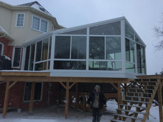 230 Sun and Stars Cathedral Sunroom Kitchener