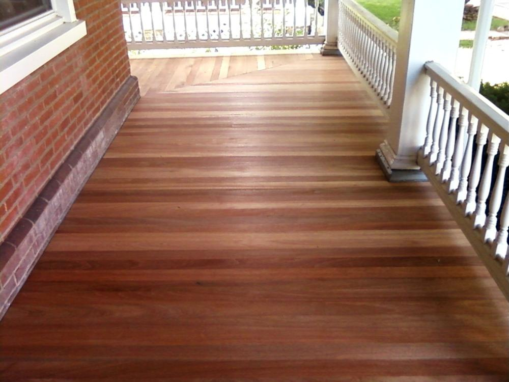New Porch Floor ~ Lansdale PA