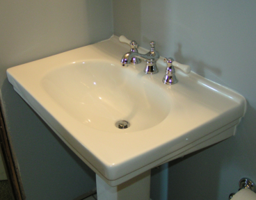 New Pedestal Sink ~ King of Prussia PA