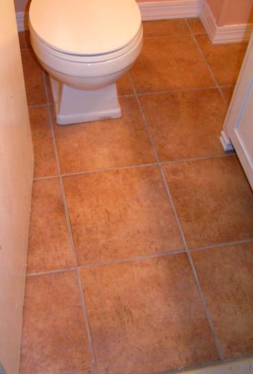 New Bathroom Floor ~ Lansdowne PA