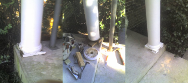 Column Repair ~ Elkins Park PA