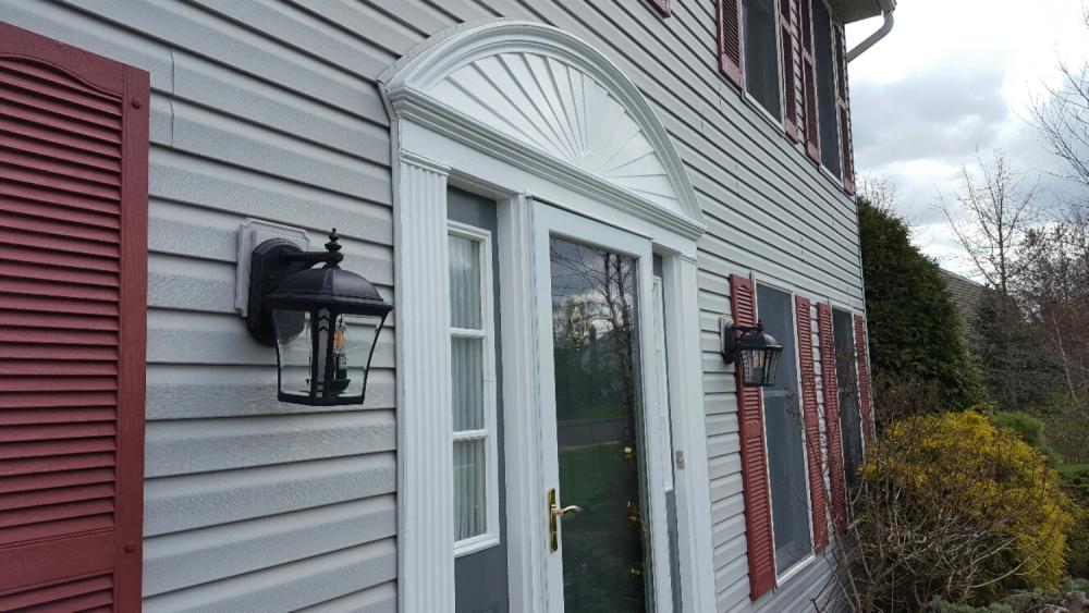 New Exterior Lighting ~ Hatfield PA