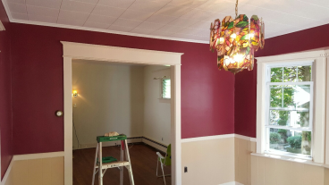 Newly Painted Dining Room ~ Havertown PA