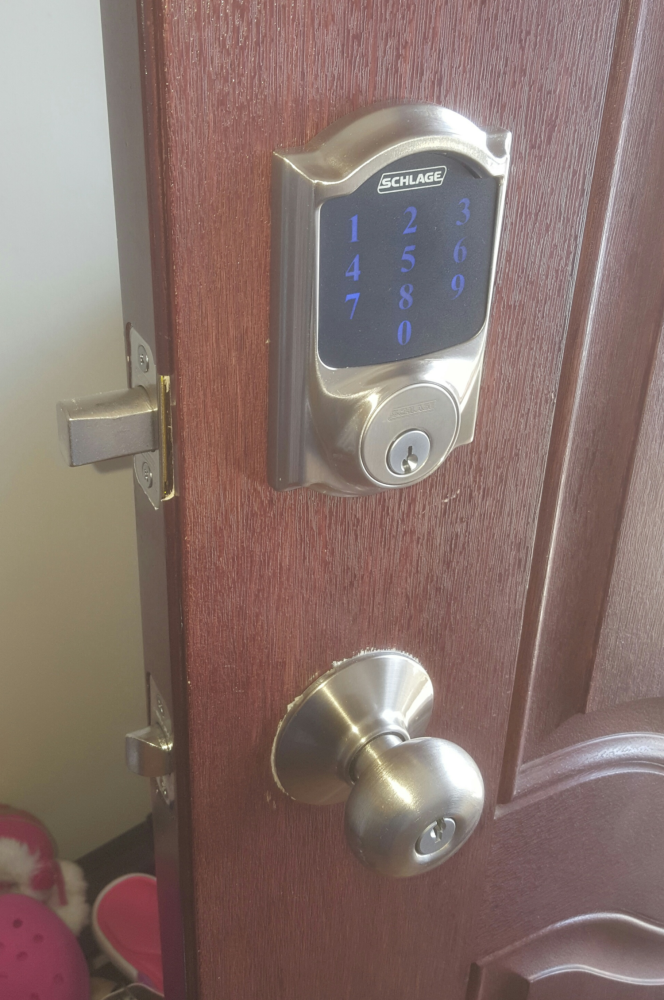 New Electronic Touch Screen Door Lock ~ West Chester PA