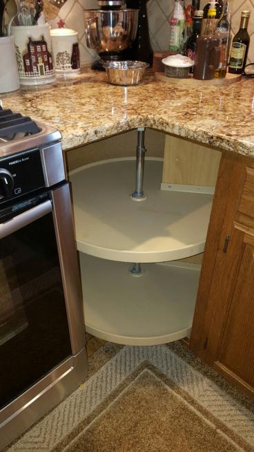 Lazy Susan Cabinet Repair ~ Hatfield PA