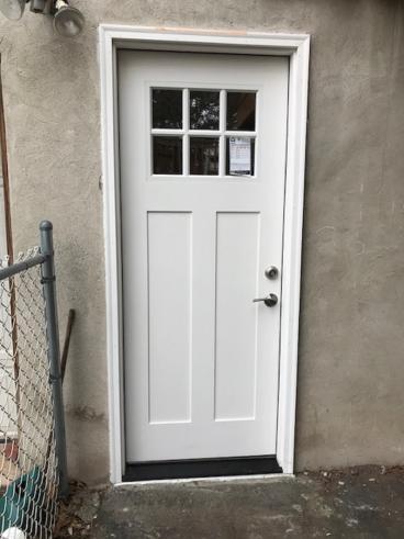 Exterior Access Door Installation in Dallas