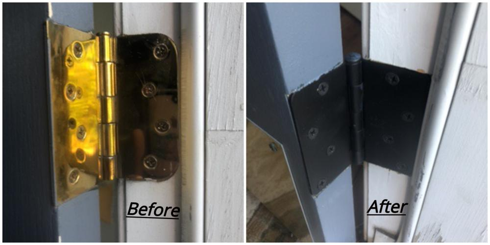 Door Hinge Installation ~ West Friendship, MD