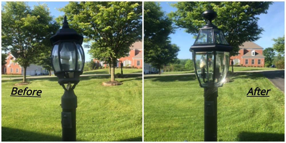 Lamp Post Replacement ~ West Friendship, MD