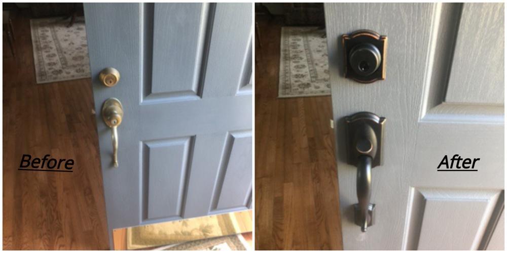 Door Handle Installation ~ West Friendship, MD