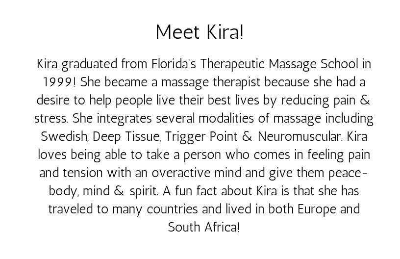 Meet Kira!