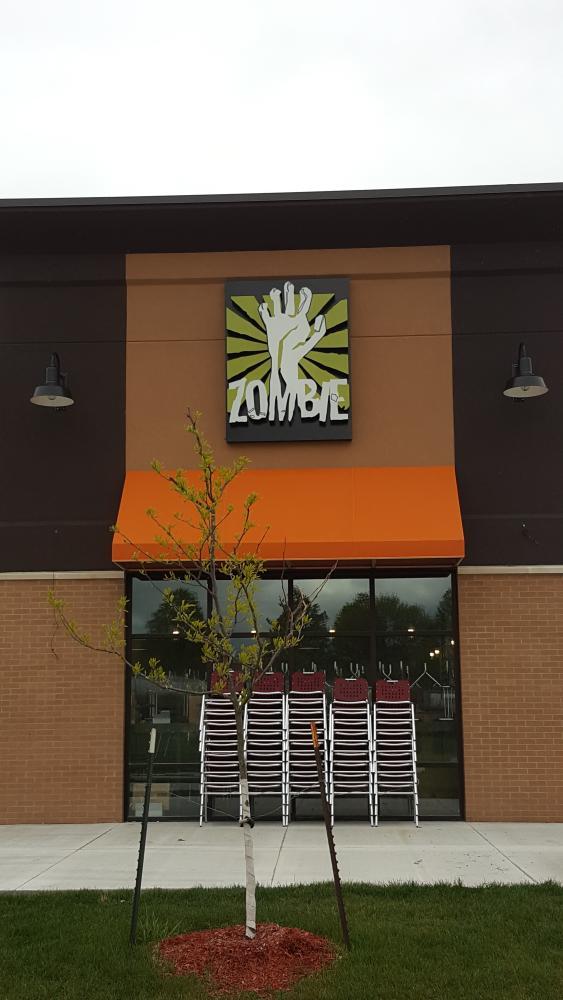 Zombie Burger Lit Cabinet