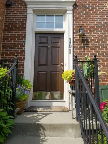 Refinish Front Door-Frederick, Maryland
