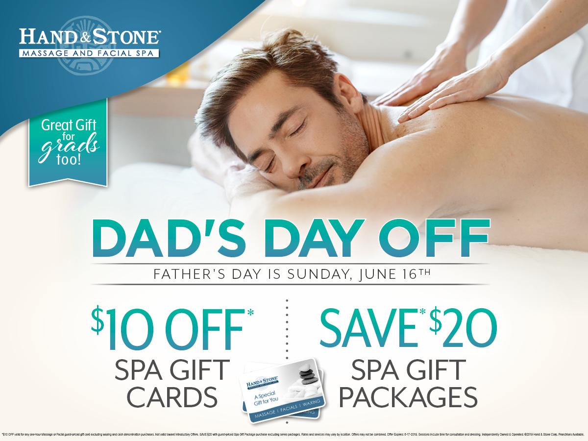Father's Day Specials begin now!