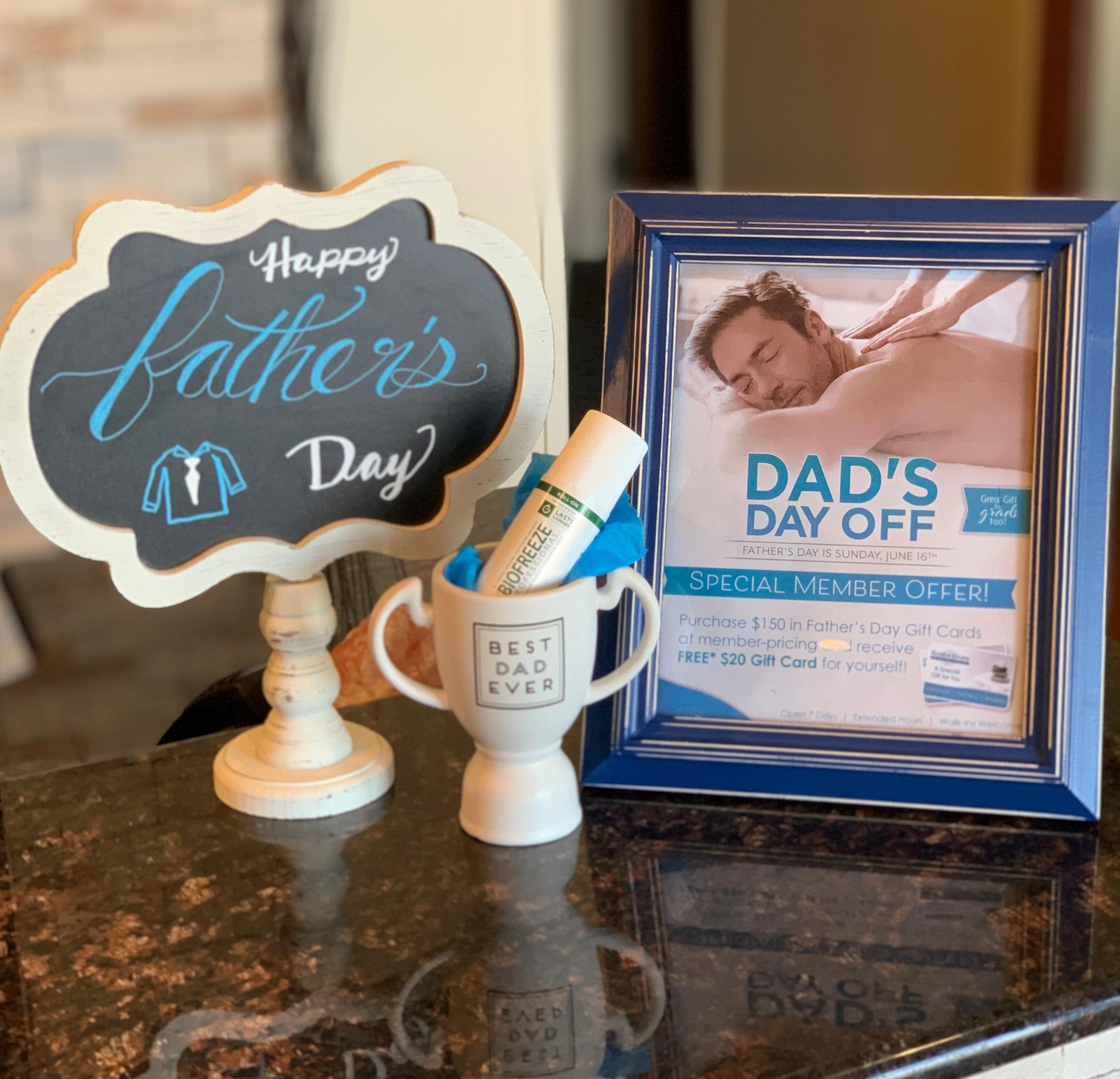 Give your Dad the gift of relaxation!