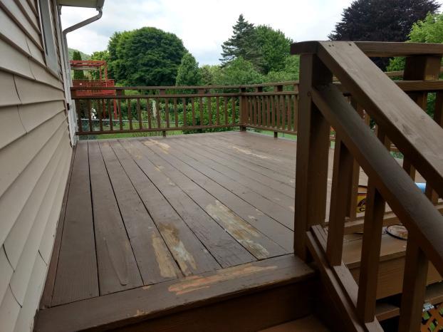 Deck Before in Binghamton, NY