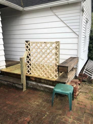 Porch Railing Installed in Endicott, NY