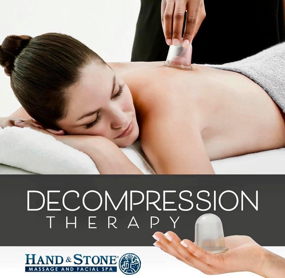 Decompression Therapy -  Hand & Stone Massage and Facial Spa - Kirkland