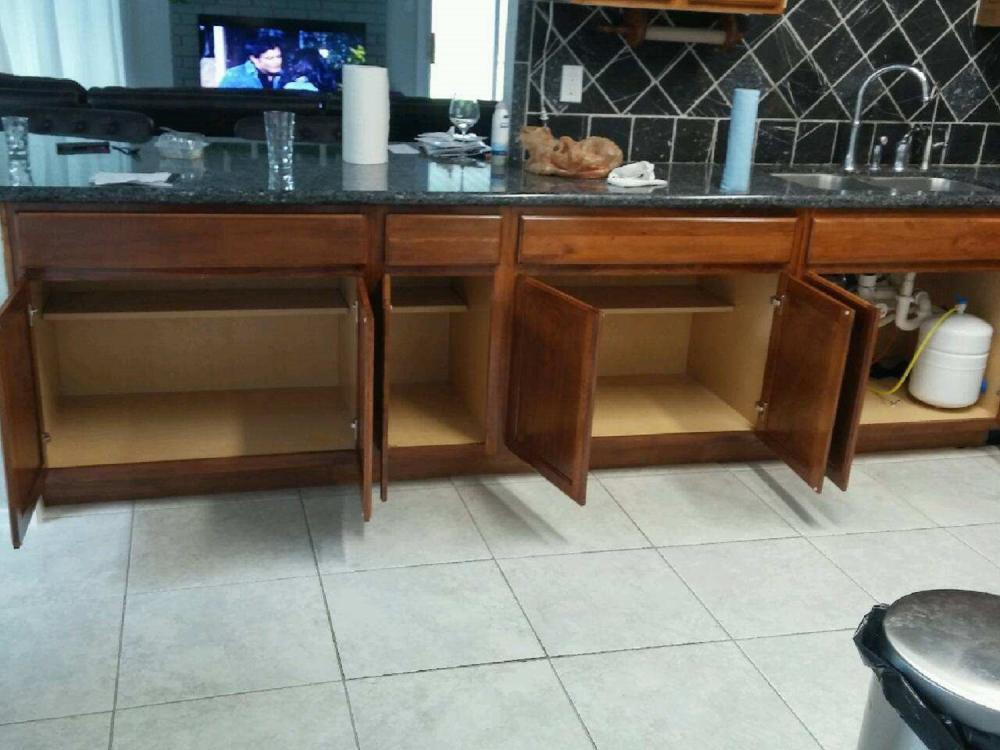 Cabinet work in West Houston, Tx