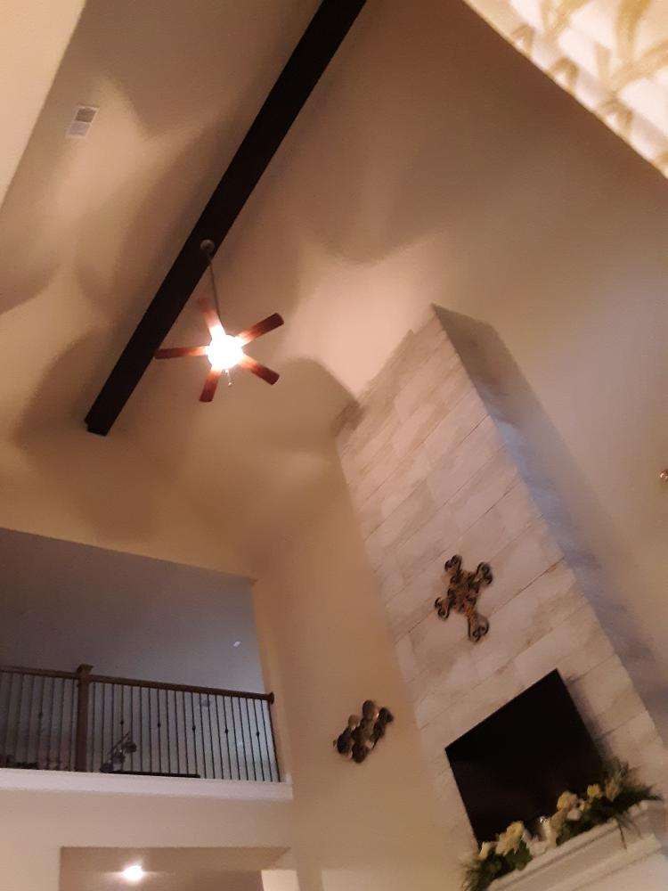 Finished Beam and Tile Job In Katy, Tx