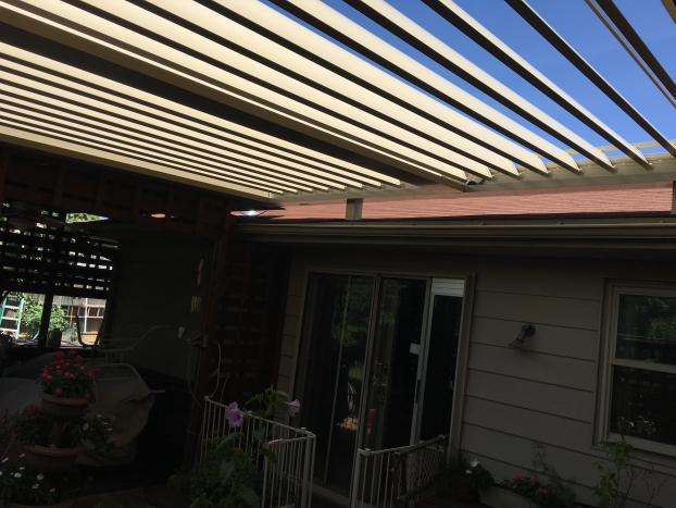 Equinox Louvered Roof system.