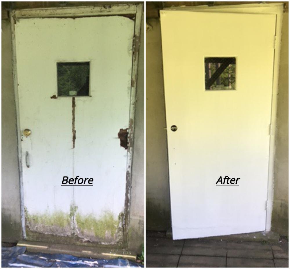 Rotted Door Repair ~ Eldersburg, MD