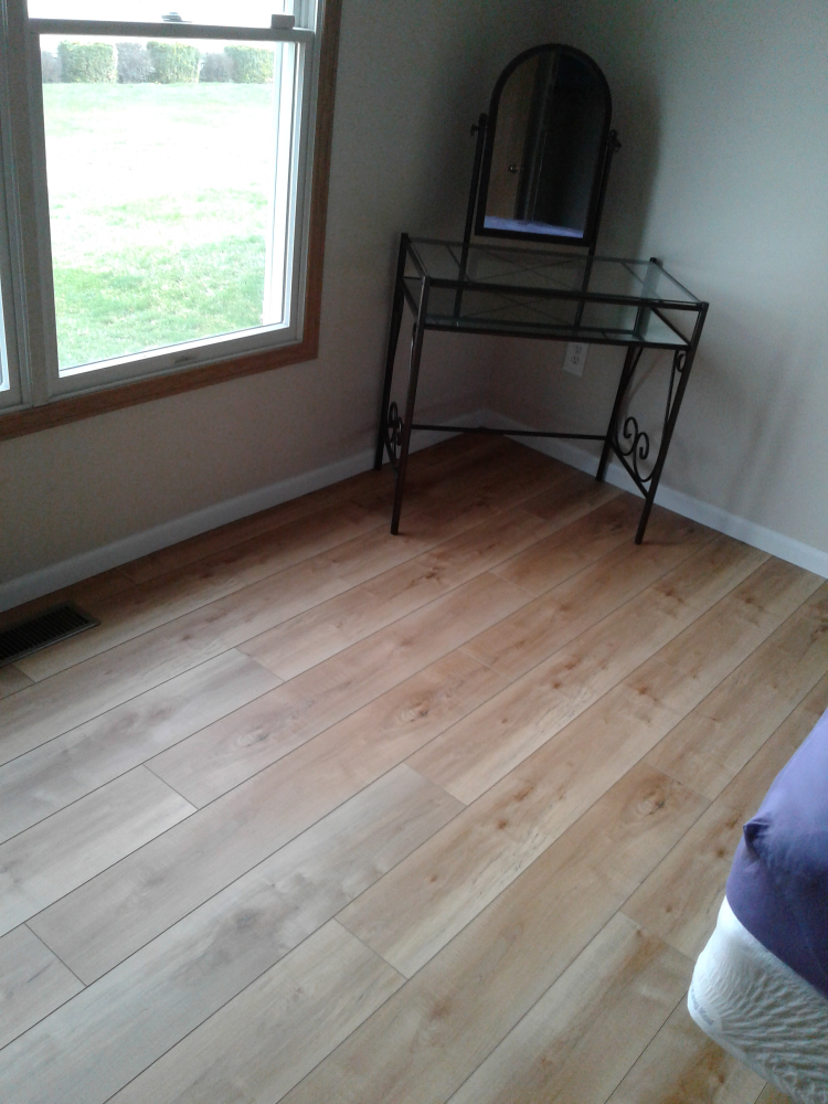 Installed Hardwood Floors in Grove City