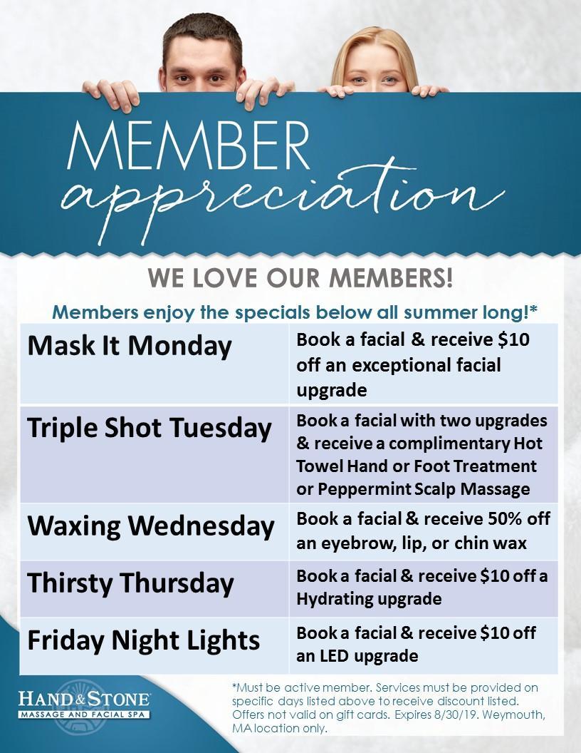 Member Appreciation!