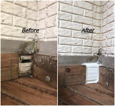 Dryer Vent Replacement ~ Ellicott City, MD