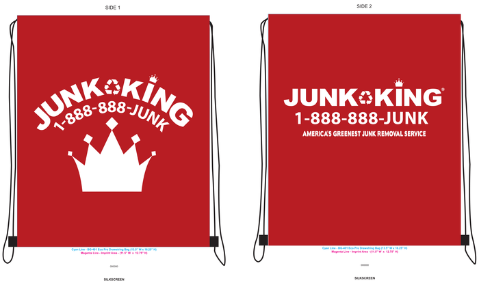 Junk King Promo Bags
