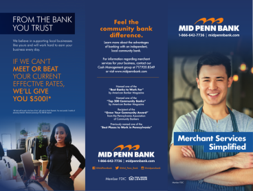 MPB Cash Management Trifold
