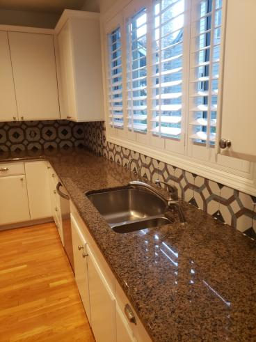 A New Backsplash in Tualatin-After