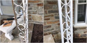 Chipped Paint Repair ~ Ellicott City, MD