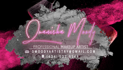 Quanisha Moody business card
