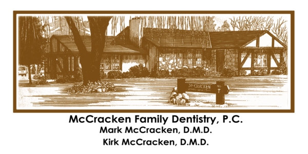 McCracken Dentistry Appt. Card