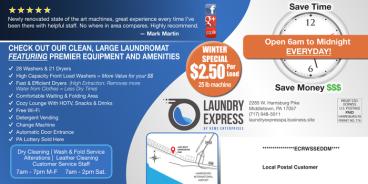 Laundry Express EDDM